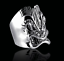 thumbnail 2 - Awesome Tiki Face Design In Real Sterling 925 Silver Men's Vintage Style Ring