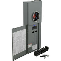 Square D 200-amp 40-circuit 20-space Outdoor Main-breaker Load-panel: Value Pack
