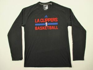 NEW-adidas-Los-Angeles-Clippers-Long-Sleeve-Shirt-Multiple-Sizes