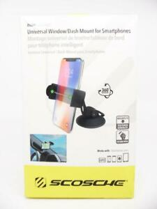 SCOSCHE HDM Universal Dash Mount Suction Cup Mount for Smartphones, Devices