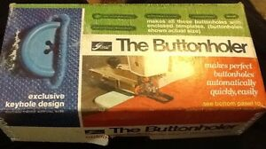 Vintage-Greist-6-Buttonholer-Automatic-Buttonhole-Attachment-Instructions-Box