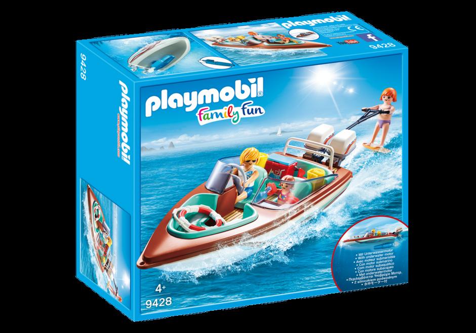 Playmobil 9428-hors-bord Avec Underwater Motor-neuf!!!