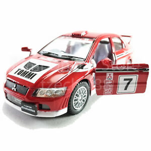Kinsmart-1-36-Die-Cast-Mitsubishi-Lancer-Evolution-VII-WRC-Coche-Modelo-Con-Caja