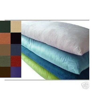 """OctoRose® Heavy Duty classic Micro Suede body pillow case 20x54/"""" in many color"""