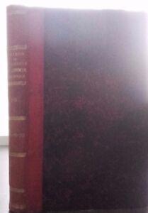 Notiziario Della Società Di Chimica Biologico Volume 1 Dunod Parigi 1914 Set ABE