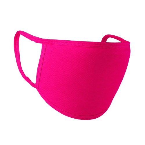 10X Pink Face Mask Reusable Washable Cotton Breathable 3Layere Adult & Unisex