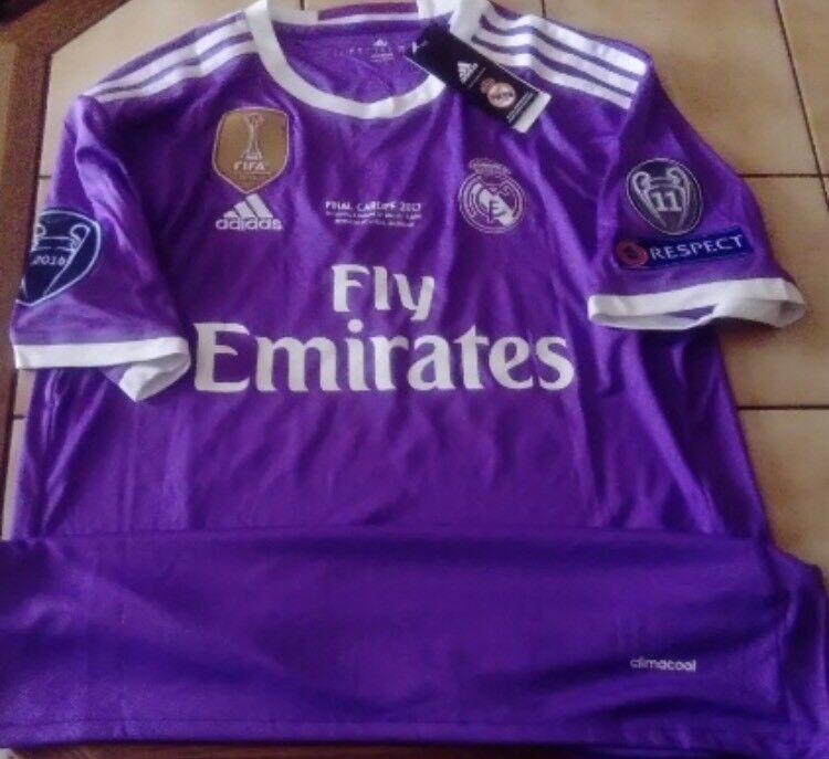 Shirt Cristiano Ronaldo Tg. L Real Madrid Final Champions  2017 Maglia Trikot