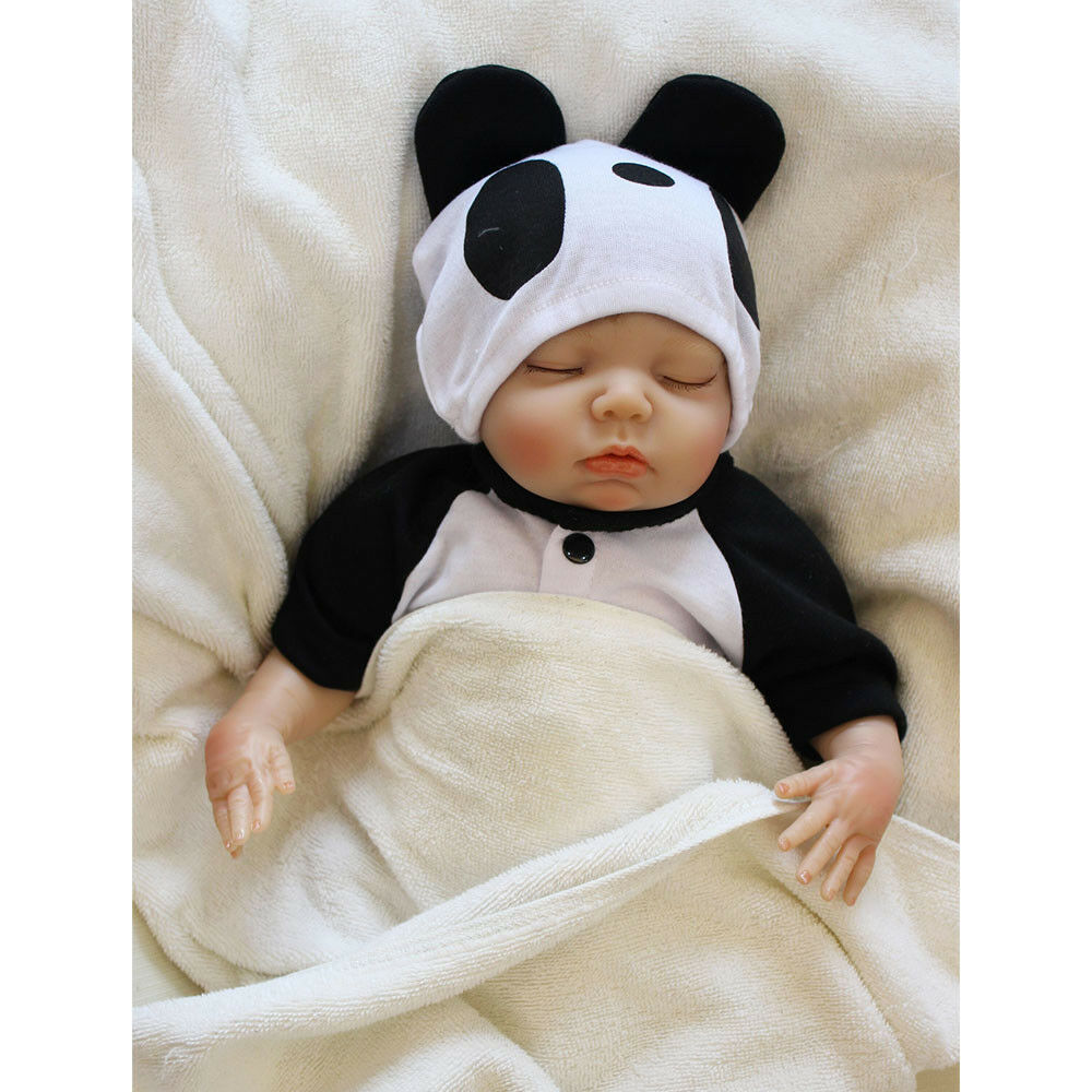 19  Cute Reborn Real Lifelike Silicone Reborn Baby Dolls Toddler Boy Xmas Gift