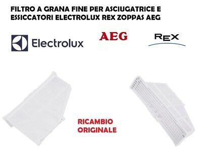 FILTRO FILACCI LANUGINE ESSICCATORE ASCIUGATRICE REX AEG ELECTROLUX ORIGINALE