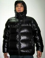 Shiny Glanznylon wetlook Down jacke expedition jacket hood downcoat custom-made