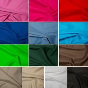 Plain-100-Cotton-Canvas-Fabric-Upholstery-Craft-260gsm-Material-145cm-Wide
