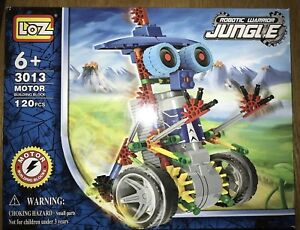 Details about New Robot Warrior Jungle Kids Toy Building Blocks Moving 120  Piece #3013 Box USA
