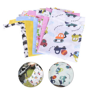 Weich Atmbar Waschbar wiederverwendbar Nappies für Kleidung Tasche Baby Windel