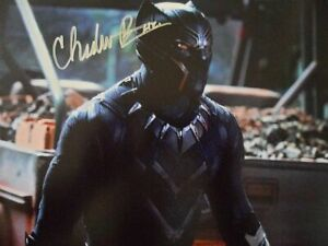 "Chadwick Boseman ""Best Actor'"" 8x10 Signed Photo Auto"