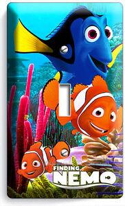 Finding nemo clown fish dory sea coral reef single light for Nemo light fish