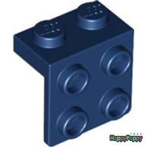 Lego 2x Konverter Winkel 1x2-2x2 Dunkel Blau Dark Blue Bracket 44728 Neuware New
