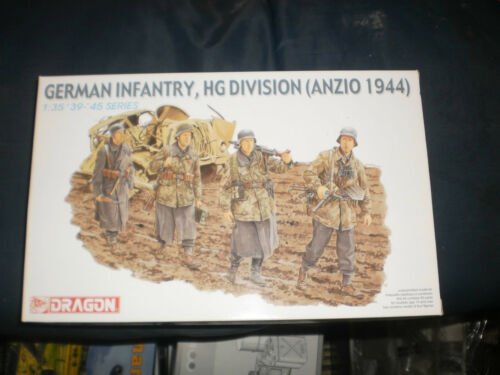 1//35 German Infantry HG Division Anzio 1944 Dragon 6158
