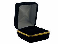 JEWELRY GIFT BOX BEAUTIFUL BLACK VELVET FOR Ring,Earring,Charm ON SALE!