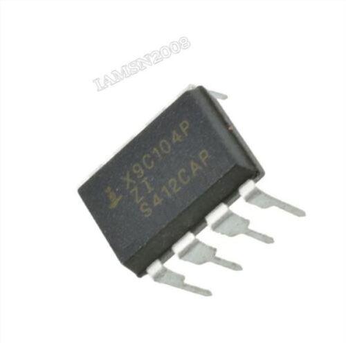 2Pcs X9C104P DIP-8 X9C104 Digitales Potentiometer cv