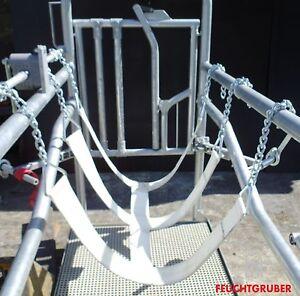 Klauen-Klammer Modell Bronfür Ruhigstellung des Hinterbeins Rinder Klauenpflege