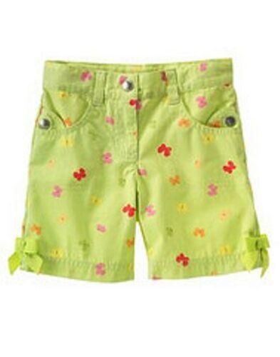 Vintage Gymboree spring summer surf adventure daisy santorini bermuda shorts 3