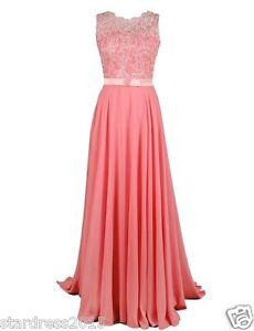 Coral Bridesmaid Dresses Uk Ebay 74