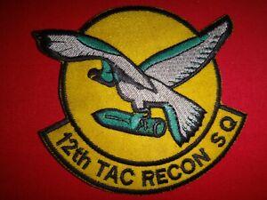 USAF 12th Tactical Reconnaissance Squadron Patch
