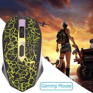 K1901-Gaming-Mouse-Gamer-1600DPI-4-Buttons-USB-Computer-Wired-Silent-Mice-UK