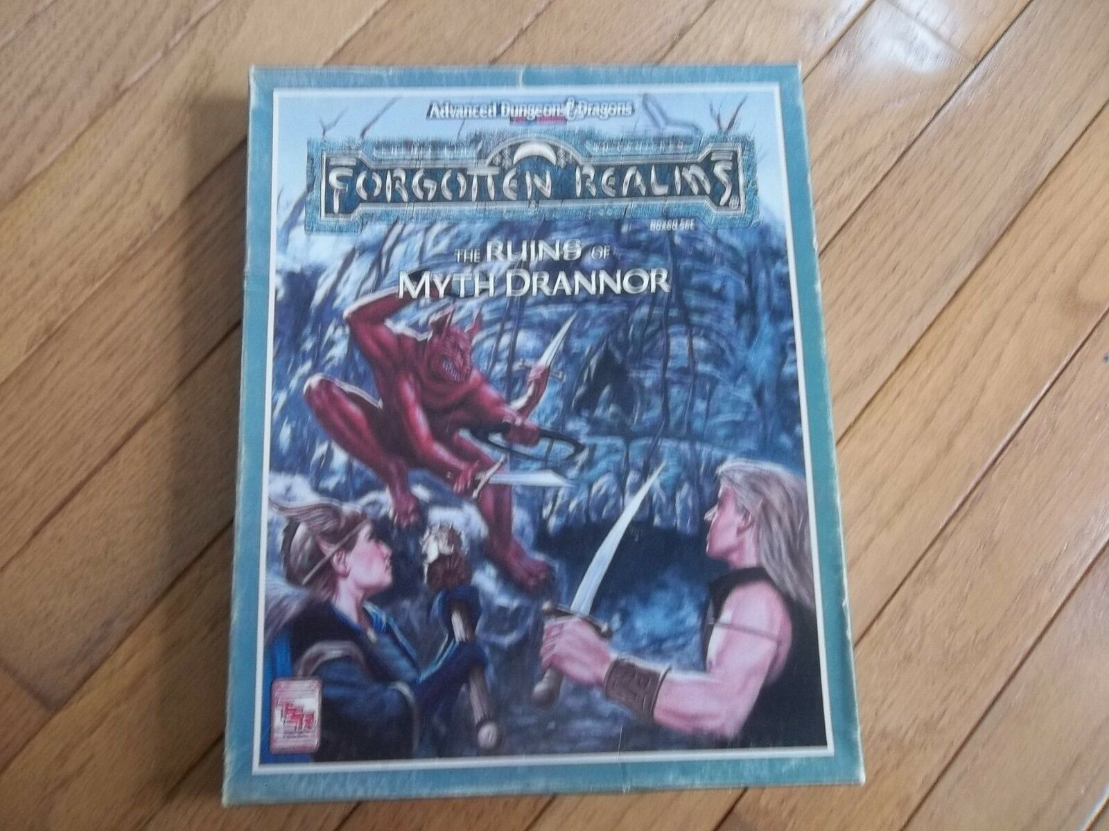 TSR AD&D 2nd Edition Forgotten Realms The Ruins of Myth Drannor
