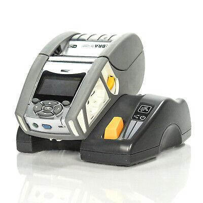 Zebra QLn220 Wireless WiFi Direct Thermal Label Printer w// QLN-EC Cradle and AC