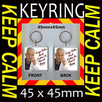 DAVID ESSEX -  KEEP CALM AND LISTEN TO- KEYRING 45X45mm