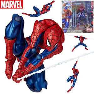 Marvel-002-Spider-Man-Figur-komplexe-Yamaguchi-Katsuhisa-Revoltech-Kaiyodo-Spielzeug