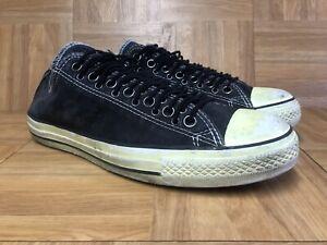 c5c25a4028d6 Image is loading Worn-Converse-John-Varvatos-Vintage-Multi-Eyelet-Sneakers-