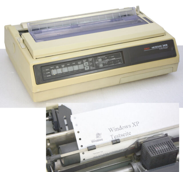 Printer Oki Microline Ml3140 3410 A3 A4 High-Performance Dot-Matrix Endless