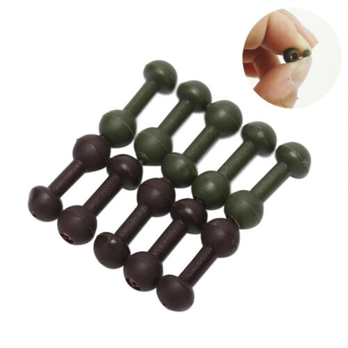 20PCS Chod Beads Helicopter Rigs Beads Carp Fishing Tackle Line Protector jg