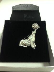 Brooch-925-Sealion-Walrus-Silver-Jewellery-11g-Ladies-Women-Xmas-Gift