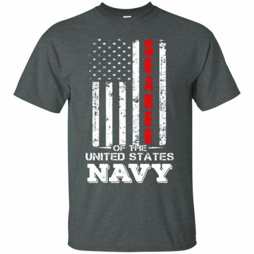 Seabee Of The US Navy United States Navy Flag Men Unisex TShirt