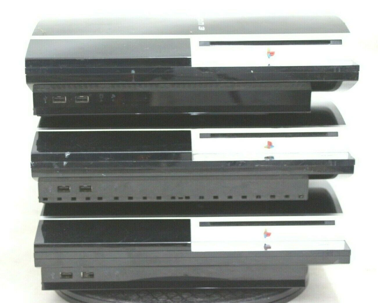 Sony PS3 Console Joblot of 3 untested units