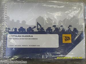 jcb finnish 515 40 operators manual ebay rh ebay co uk