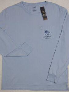 45ddba21b5 Polo Ralph Lauren TShirt Custom Slim Fit Marine Outfitters Graphic ...