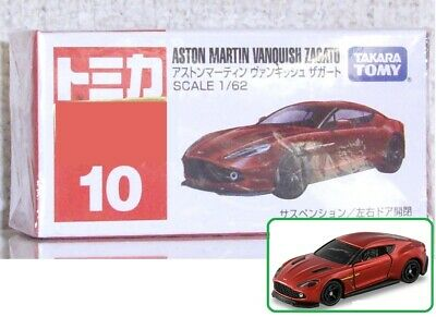 Takara Tomy Tomica #10 Aston Martin Vanquish Zagato 1st Special Ed Diecast Car