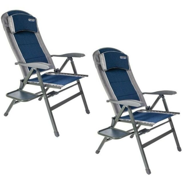 Quest Naples pro comfort chair with side table X2 Chairs Combo