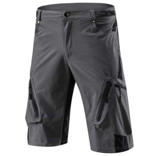 Herren MTB Radsport Kurze Hose Baggy Shorts Ausgebeult Radlerhose Fahrradhose