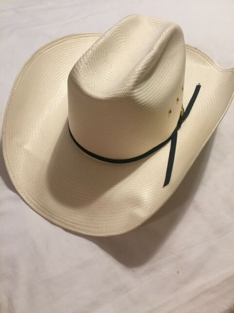 d538948da4b Resistol Shantung Panama Long Oval Cowboy Hat Vinylcote WipeNWear 6 7 8  Western