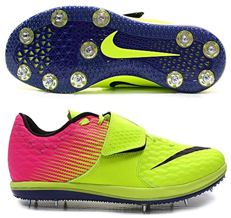 d85e04e4 shoes Spikes Elite Jump High Zoom Men's Nike Volt HJ 6.5 Size Black ...