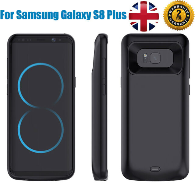 wholesale dealer b87af 3308b 5200mAh Battery Charger Case Cover Backup Power Bank For Samsung Galaxy S9  Plus