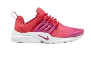 online retailer a214d 7576a Image is loading NIKE-AIR-PRESTO-WOMEN-039-S-University-Red-