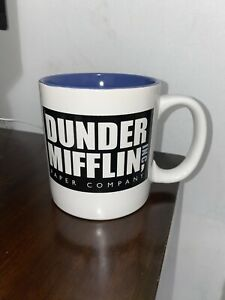 The Office Mug With Mission Statement Limited Edition Ebay