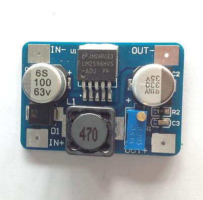1Pcs New LM2596HVS 5-60V to 1.25-26V DC Step Down Adjustable Power Board Module