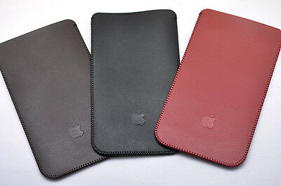 """for Apple iPhone 6 4.7""""/5.5"""" pu Sleeve case Pouch bag slim and light perfect fit"""